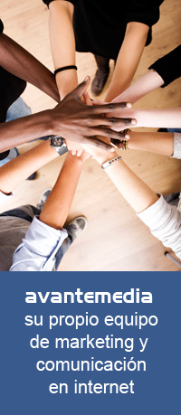 Avantemedia, su propio euipo de marketing y comunicación en internet